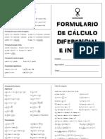 Formulario de Cálculo Diferencial e Integral.pdf