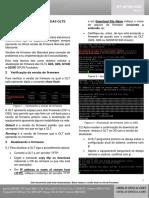 ATUALIZAÇÃO DE FIRMWARE DAS OLTS G4S, G8S, G1040 E G2500
