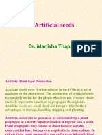 Artificial Seeds