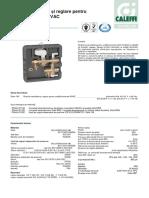 Grup de Reglaj Pentru Unitati Terminale HVAC_CALEFFI Seria 149