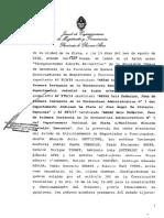 Fallo completo de la destitución de Luis Federico Arias, la defensa apelará la medida.