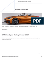 BMW Intelligent Battery Sensor (IBS) » Bimmerscan