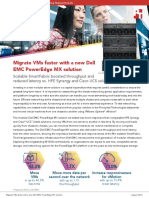 Migrate VMs faster with a new Dell EMC PowerEdge MX solution