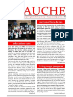 Gauche Issue1 Frontpage