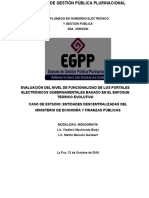 Monografia Gobierno Electronico Finalizada