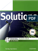 Solutions Libro Ingles
