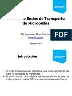 Curso Diseño de Redes de Transporte de Microondas-TECSUP J