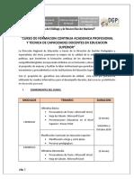 Instrucciones Para Inicio de Curso - Institutos
