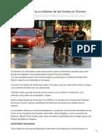 25-08-2018 - Gobernadora llama a cuidarse de las lluvias en Sonora - Elimparcial