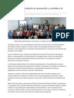 26-08-2018 - Imparte ISM capacitación en prevención y combate a la trata de personas - opinionsonora.