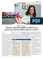 Tammy Querrey builds excellence in heart care based on her past as a nurse