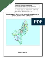 296497855 Estudio Hidrologico Canal Pacora 2do Avance