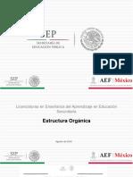 Organigrama ENSM