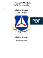 CAP Mission Scanner Task Guide