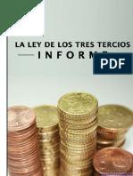eBook en PDF La Ley de Los Tres Tercios