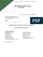 Aviabile Motion for Summary Judgement