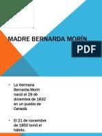 Madre Bernarda Morín