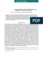 Hänsel & Deuber (2013) - Globalization, Postcolonial Englishes and the English-language Press
