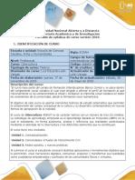 Syllabus Del Curso Cibercultura