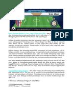Bursa Taruhan Bologna vs Inter Milan 1 September 2018