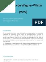 Algoritmo WagnerW SLA MCES