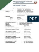 AMPLIACION DE PLAZO N°02