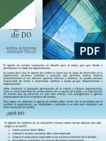 Perfil Del Agente de DO y Habilidades Del Consultor