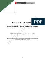 Norma E030 2014 Diseno Sismorresistente