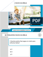 30 PERGUNTAS FACEIS DA BÍBLIA.pptx