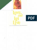 1989 Love and Let Live Prolife Brochure HLI