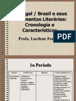 Cronologia e Caractersticas Dos Movimentos Literários
