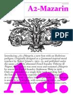 A2 Mazarin Specimen