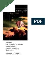 Carlos Heitor Cony - Quase Memória