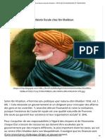 La Théorie Fiscale Chez Ibn Khaldoun - Articles Economiques Et Financiers