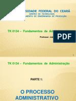 Funções Da Administração (Planejar, Organizar, Dirigir e Controlar) 2018 1