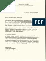 Iván Duque anunció que hoy fue enviada la carta que oficializa el retiro de Colombia de la Unasur