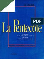 Cabié, R - La Pentecote