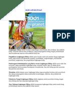 Beberapa Istilah Ilmu Lingkungan