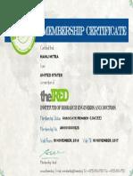 Associate Member IRED