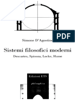Sistemi Filosofici Moderni - Simone D'Agostino