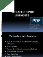 Extracción Por Solventes