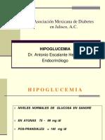 Hipoglucemiaa