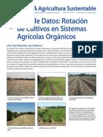 ATTRA Agricultura Sustentable - Rotacion de Cultivos en Sistemas Agricolas Organicos
