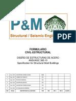 Diseño de estructural metálicas