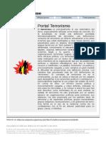 Portal Terrorismo