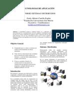 Informe sistemas distribuidos