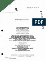 IRIG-106 1999 Telemetry Standards