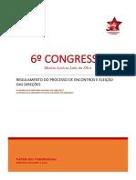 Regulamento 6 Congresso Nacional 7fev2017