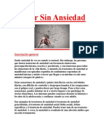 Ansiedad Descripcion General PDF GRATIS.