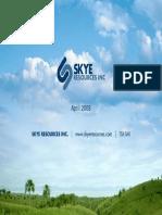 SKR Inv Presentation April